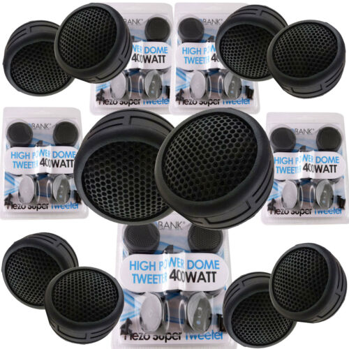 4 Pairs  800W Total Power Super High Frequency Mini Car Tweeters