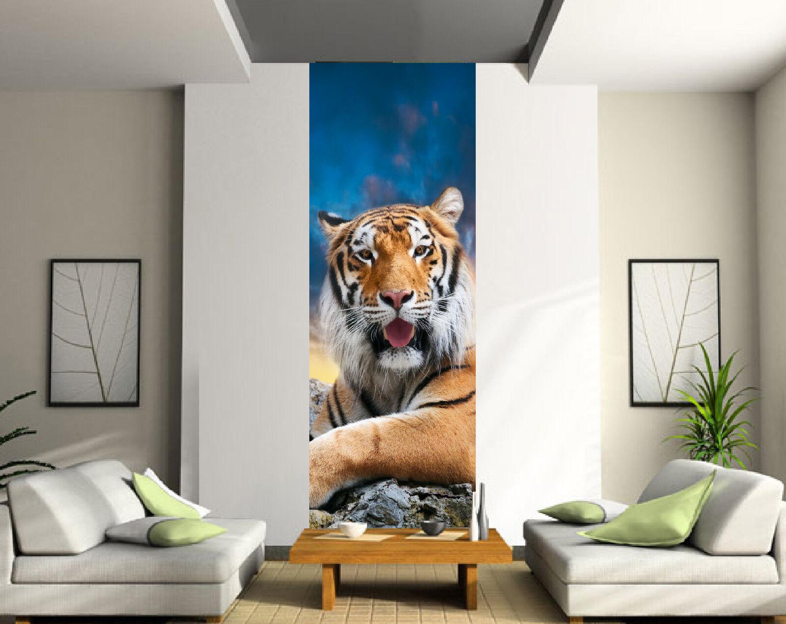 Pegatinas engaña ojo Único decoración mural Tigre ref 2035