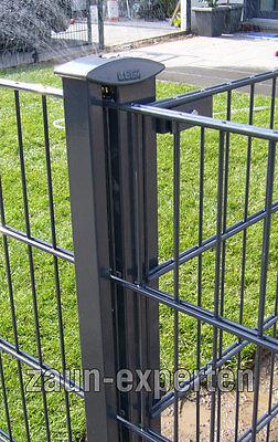 LEGI R fit R+K Gittermattenzaun 25m kompl. Farbe: anthrazit, Höhe: 103 cm