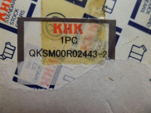 KHK QKSM00R02443-2 BEVEL GEAR SM2-25 20mm ID 6mm K//WAY 1 SET SCREW HOLE NOS