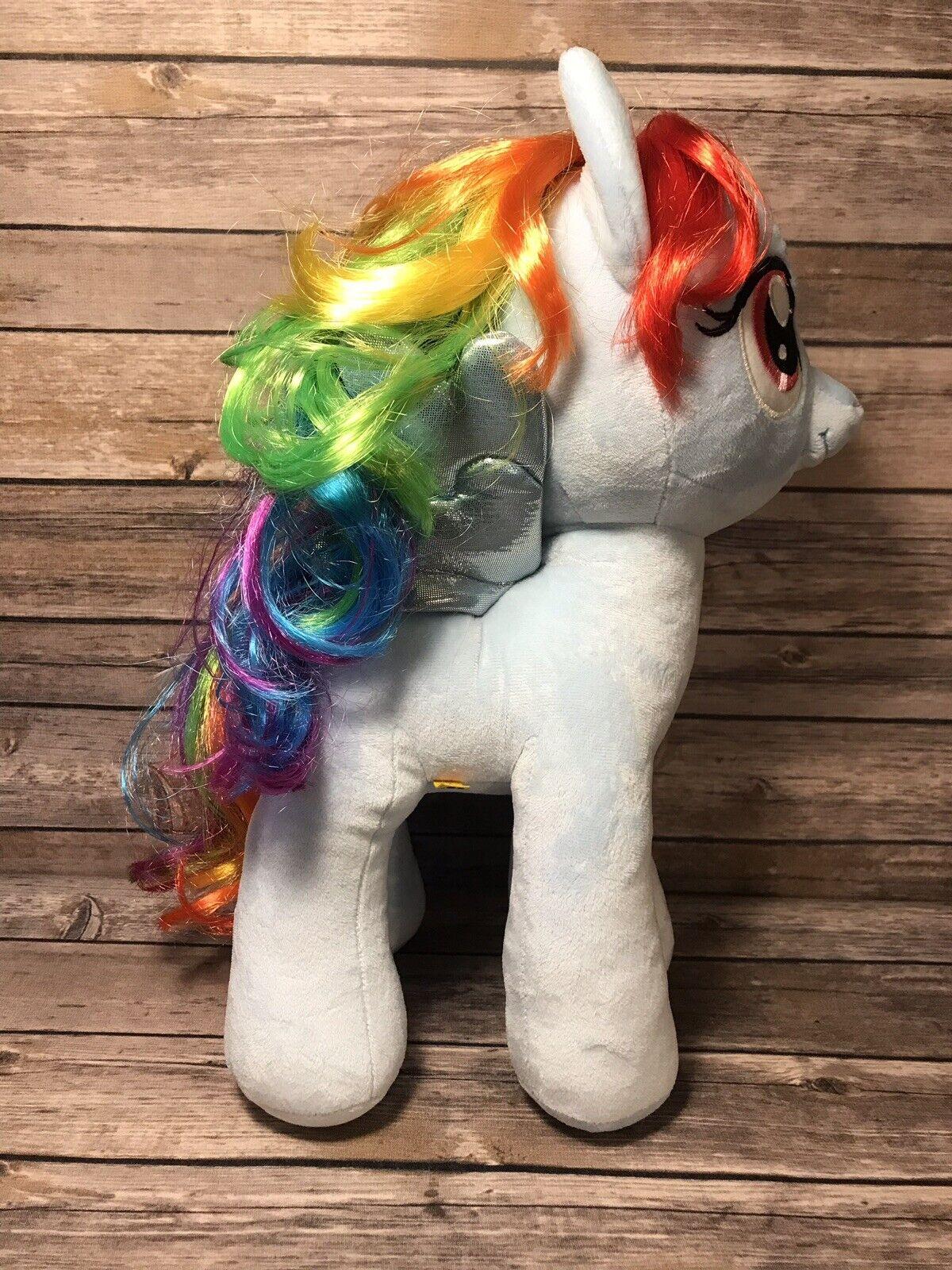 Build A Bear BAB My Little Pony RAINBOW DASH NWT Brand New With Tags