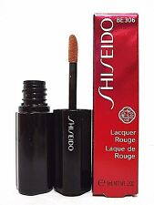 SHISEIDO LACQUER ROUGE LIPGLOSS 0.2 Oz / 6 ml # BE 306 BRAND NEW ITEM IN BOX !!!