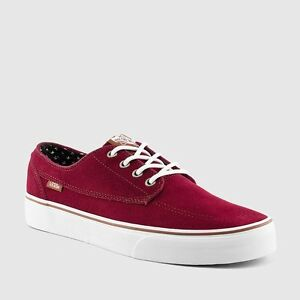 2f81a0126b Image is loading AUTHENTIC-VANS-BRIGATA-SUEDE-WINDSOR-WINE-PLUS-SHOES-