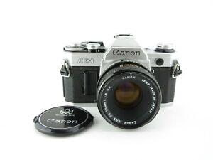 Canon-AE-1-SLR-Spiegelreflexkamera-Lens-FD-50mm-1-1-8-S-C