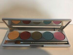 Details about Kryolan 9335 SHADES Las Vegas 5 Color Eye Shadow Makeup Palette