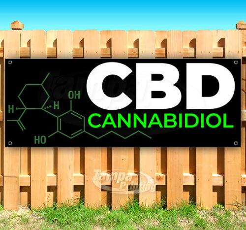 CBD CANNABIDIOL Advertising Vinyl Banner Flag Sign Many Sizes