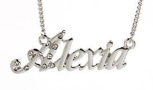collier prenom alexia