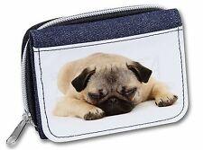 AD-M1JW Maltese Dog Girls//Ladies Denim Purse Wallet Christmas Gift Idea