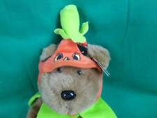 MWT HALLOWEEN TY BEEN EBUDDY JACK-O'-LANTERN PUMPKIN BROWN TEDDY BEAR PLUSH 2005