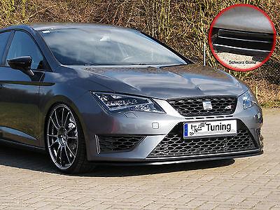 Spoilerschwert Frontspoiler Cuplippe aus ABS für Seat Ibiza 6J SC ST mit ABE