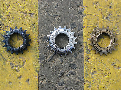 "Dicta Single Speed Freewheel 16T 17T 18T Chrome Black Bronze | 3/32"" 1/8"" | BMX"