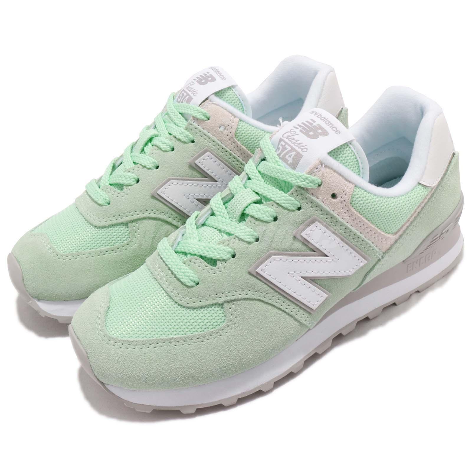 nouveau   WL574ESM B 574 vert blanc femmes FonctionneHommest chaussures paniers WL574ESMB
