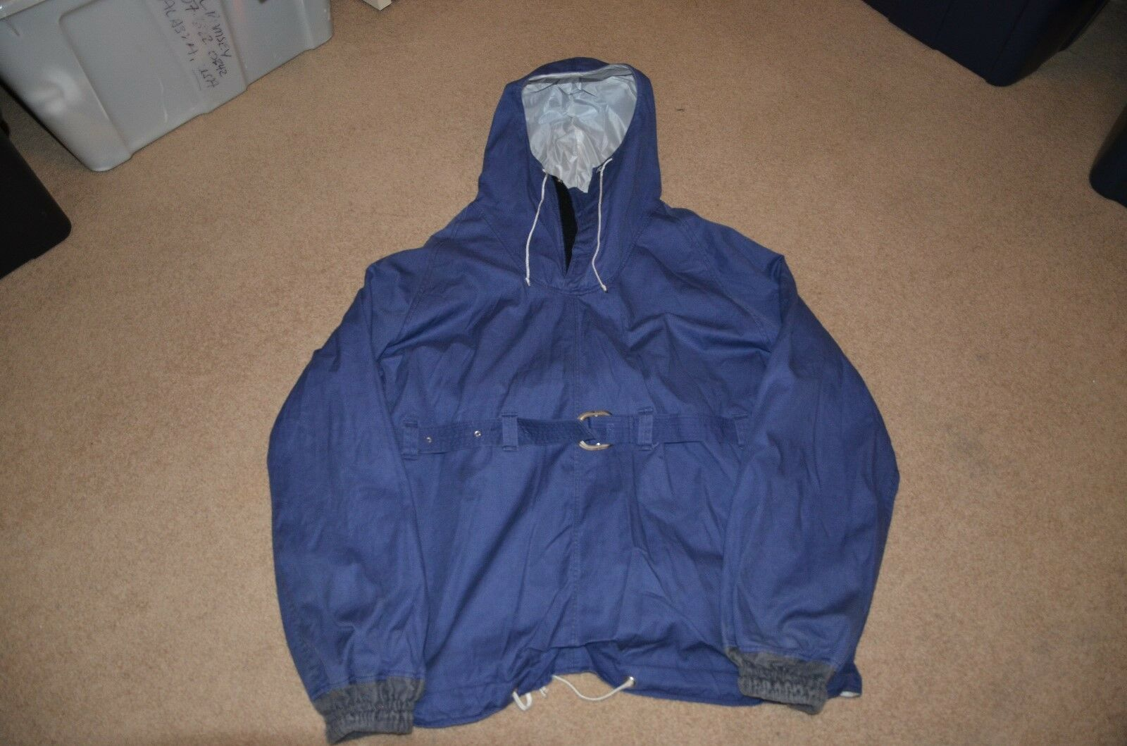 Vintage Soviet era Anorak from Bellingshausen  Station, Antarctica  discount low price