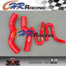 Silicone radiator heater hose for Holden Rodeo RA 3.0 Turbo Diesel 2003-2007 RED