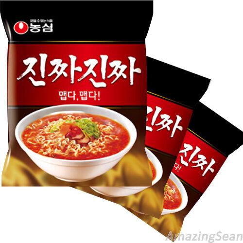 Jinjja Jinjja 3,6,10 Spicy Korean Instant Noodle Soup Korea Ramen Ramyun NO09
