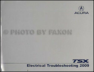 2009 acura tsx electrical troubleshooting manual original. Black Bedroom Furniture Sets. Home Design Ideas