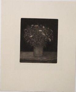 Alfred-Schmidt-034-Feldblumenstrauss-034-Radierung