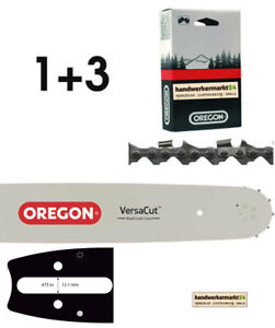 37cm Oregon Schwert Set mit 2 HM Sägeketten 3//8 56TG 1,6mm p.f Stihl MS461
