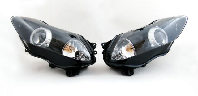 Phare Headlight pour Yamaha YZF 1000 R1 2007-2008 Clear
