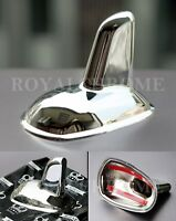 Usa Stock Chrome Roof Antenna Cover For Mercedes C E S Glk Class W204 W221 W207