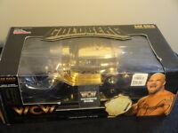 Racing Champions Wcw World Champion Wrestling Goldberg 24k Gold Nitro-streetrod