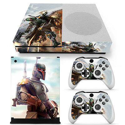 Video Games & Consoles Systematic Boba Fett Xbox One S Sticker Console Decal Xbox One Controller Vinyl Skin 2019 Official