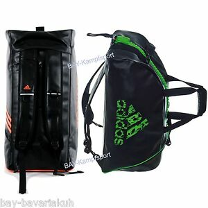 adidas 2in1 sportrucksack tasche schwarz neon pink rosa trainingstasche rucksack ebay. Black Bedroom Furniture Sets. Home Design Ideas