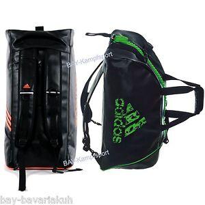 Das Bild wird geladen adidas-2in1-Sportrucksack-Tasche-schwarz-neon -pink-rosa- cd1a983d37