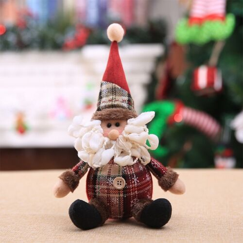 Weihnachtsschmuck Weihnachten Puppe Weihnachtsbaum Anhänger Deko Spielzeug FL