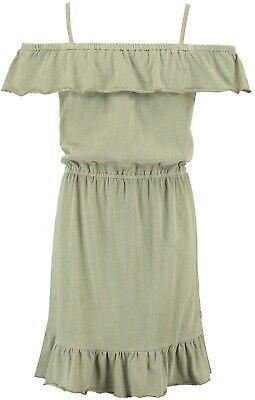 19-shirt Vestito, Verde Oliva (regolare Fit) C92481 V. Garcia Mis. 140-176-mostra Il Titolo Originale
