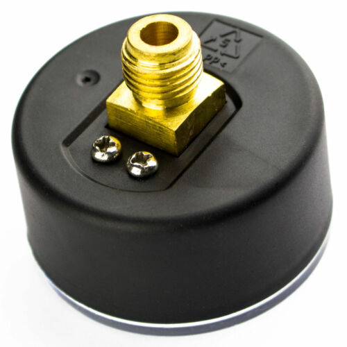 AWM Manometer Hauswasserwerk Druckanzeige 1//4 Zoll Druckmanometer