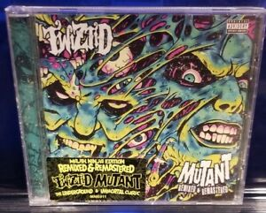 Twiztid - Mutant Remixed & Remastered CD insane clown posse tech n9ne blaze