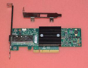 MNPA19-XTR-10GB-MELLANOX-CONNECTX-2-10Gbe-SFP-RT8N1-Low-baffle-bracket