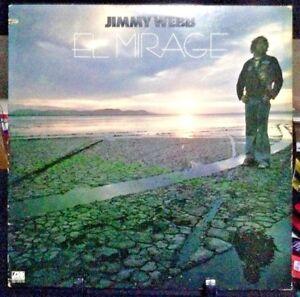 JIMMY-WEBB-El-Mirage-Album-Released-1977-Vinyl-Record-Collection-US-pressed