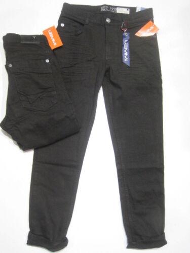 Superbig Taille 140 SOLDES 35/% Lemmi Garçons Jeans Noir Denim Tight Fit