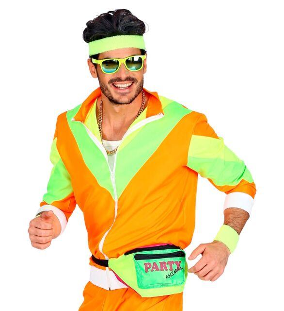 80er Jahre Gürteltasche 80er Jahre Kostüm Bauchtasche Unisex Neon Party Tasche