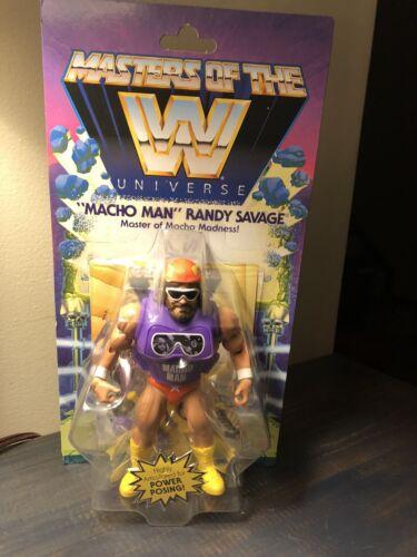Masters of the WWE Universe MACHO MAN Randy Savage Series 2 Figure Mattel Rare