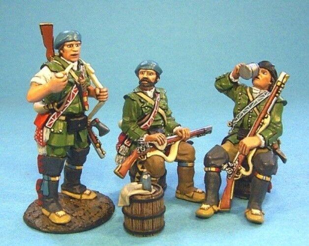 John Jenkins - Raid of St Francis RR-01 - Rangers preparing for a raid set  1