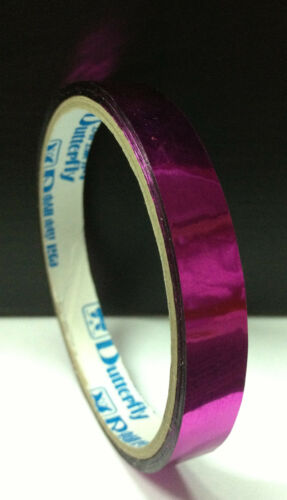 110m Chrome Tape 7 Colors Red Blue Green Silver Gold Purple Pink 120y Set Wrap