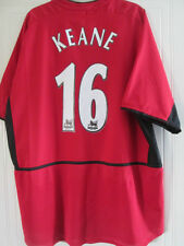 Manchester United 2003-2004 Home Keane Football Shirt Size XL /38098