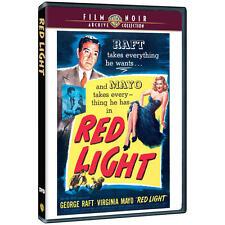 RED LIGHT GEORGE RAFT, VIRGINIA MAYO DVD film noir