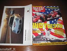 AUTOSPRINT 2002/40=GP F1 INDIANAPOLIS=RUBENS BARRICHELLO=RALLY COSTA SMERALDA=