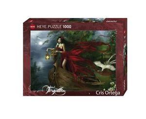 JIGSAW PUZZLE CRIS ORTEGA HY29389 - Heye Puzzles - 1000 Pc - Swans