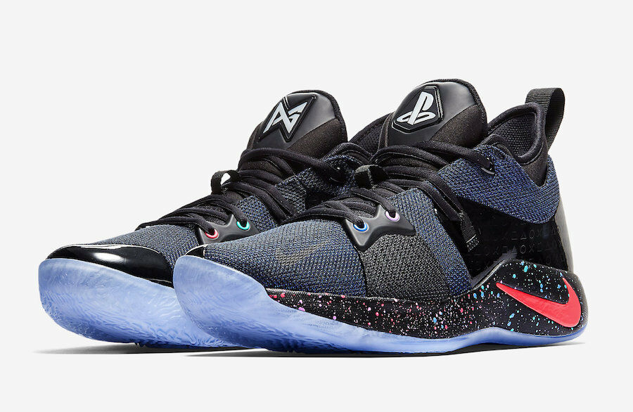 Nike pg 2 playstation paul 11 george ps4 schuhe - größe 11 paul - at7815 002<new> 9d01a5