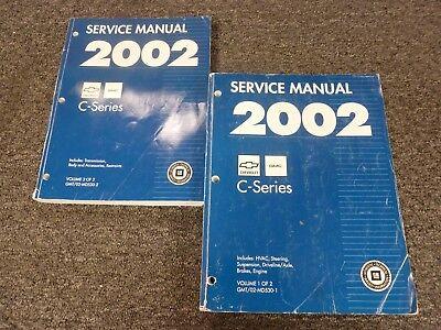 2002 GMC Topkick C4500 C5500 C6500 C7500 C8500 Truck Shop