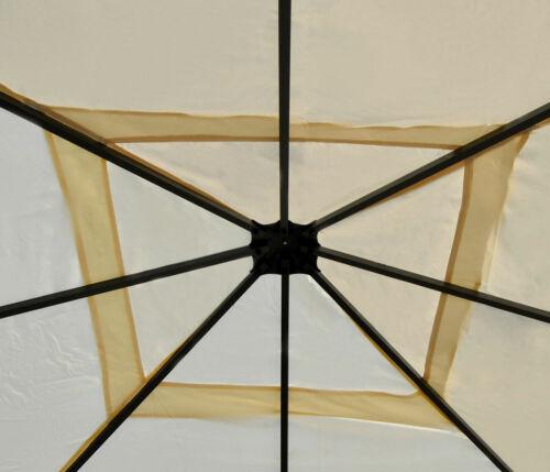 Tetto Protezione dal Sole Rivestimento DI RICAMBIO PER PERGOLA Cadiz 4x4m Crema