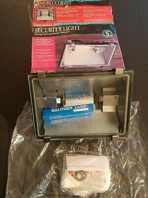 Sicherheits Licht Außenstrahler & Flutlichter Neu Electripak 500 Watt Quartz Halogen Wand Scheinwerfer Beleuchtung