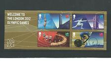 GB MINIATURE SHEET - 2012 -  WELCOME TO LONDON 2012  OLYMPICS - UNMOUNTED MINT