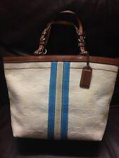 NO RESERVE Authentic Coach Women's Small HandBag Purse Shoulder Bag Cream