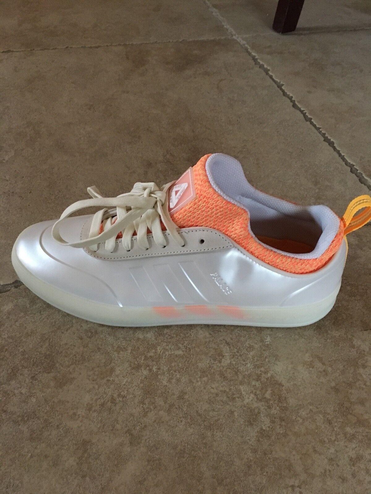 Adidas X Palace Pro 2 Off White / Solar Orange Size 8